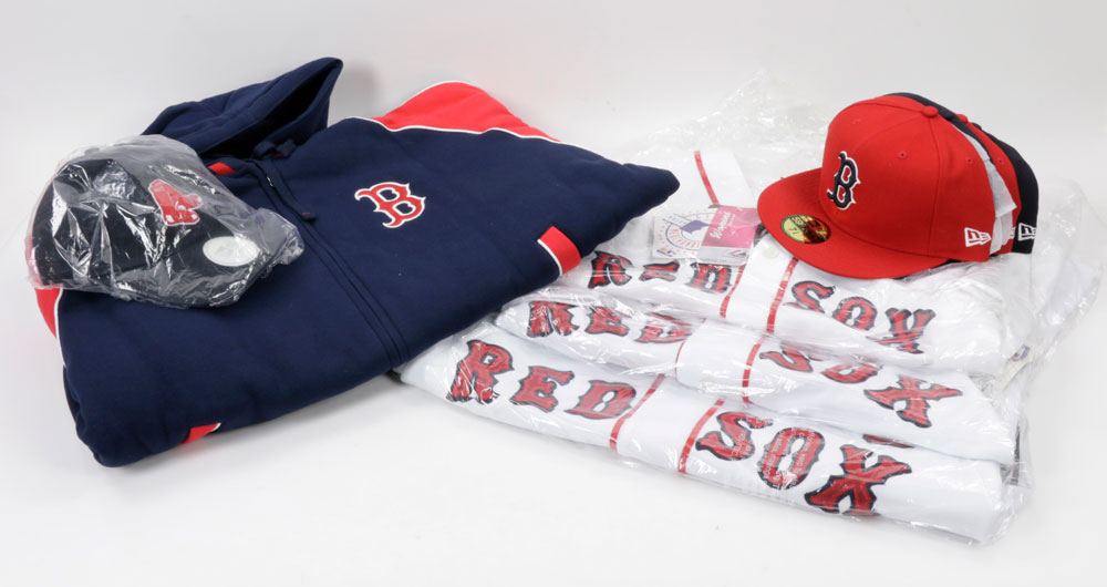Lot Detail - Lot of Boston Red Sox Memorabilia