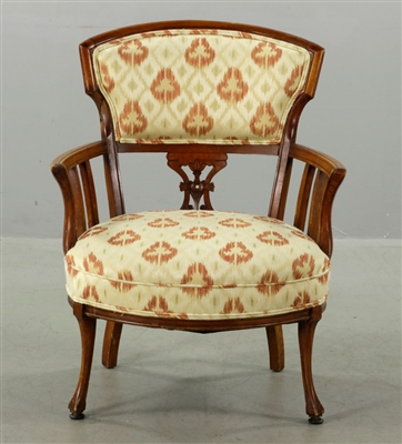 Exceptional Victorian Upholstered Armchair