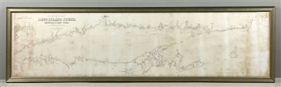 8-Foot Chart of Long Island Sound