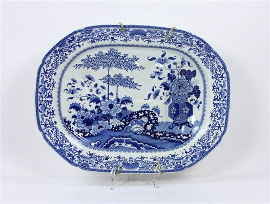 Staffordshire Style Deep Well Platter