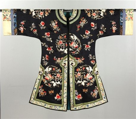 19th C. Chinese Embroidered Ladies Robe