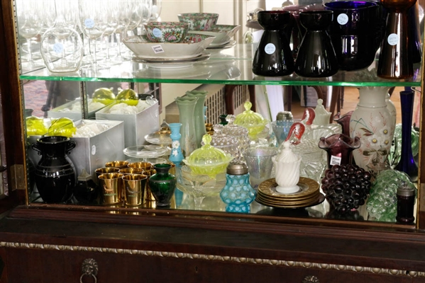 Large Collection of Assorted Glass Pieces