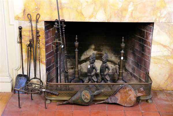 Collection of Fireplace Accessories