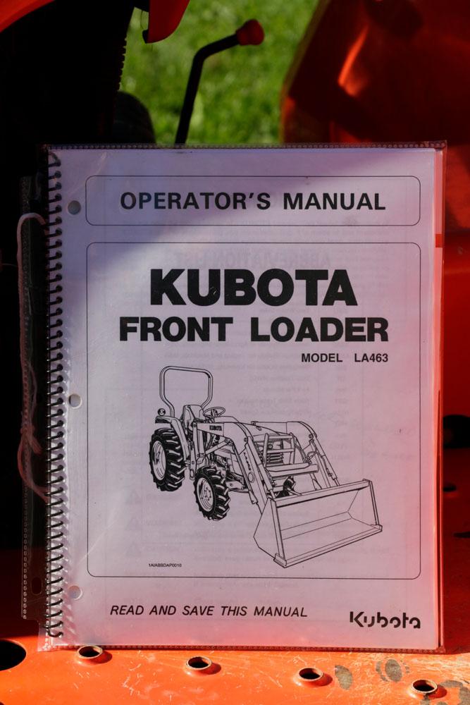Lot Detail - Kubota Tractor L3400 w/ Lawnmower Attachment