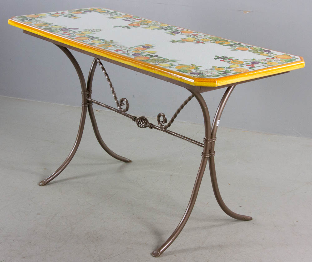 Image result for italian ceramic tables photos