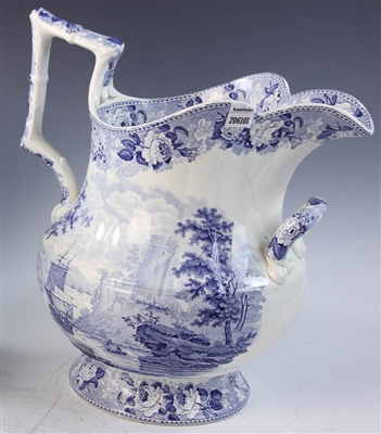 19th C. English Staffordshire Pitcher