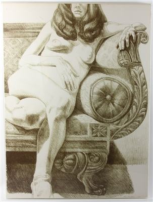 Philip Pearlstein Lithograph Nude Female