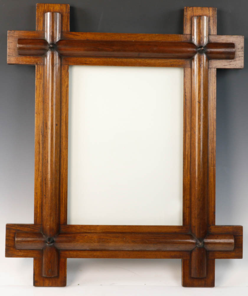 Lot Detail - Pair of Mahogany Arts and Crafts Style Frames