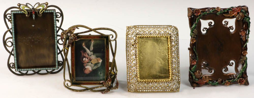 Lot Detail - Collection of Four Jay Strongwater Frames