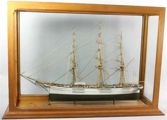 Harry Connell Ship Model of the Flying Fish