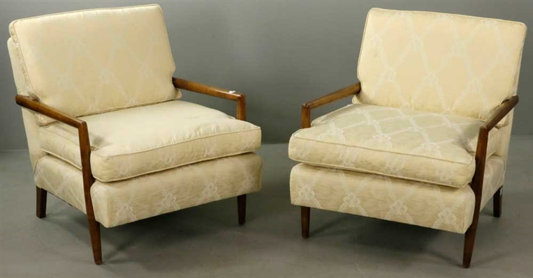 Robjohns Gibbons, Pair of Modern Upholstered Armchairs