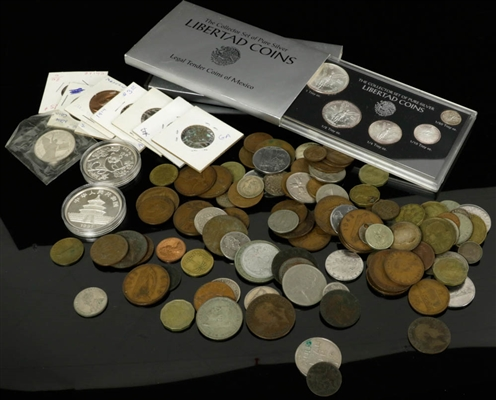 Collection of Foreign Coins, Chinese Pandas