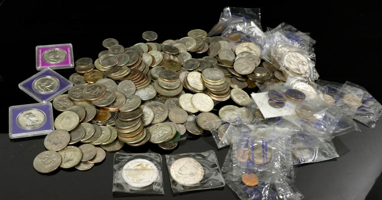 Collection of US Coins & Commemoratives