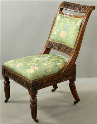 William IV Rosewood Side Chair