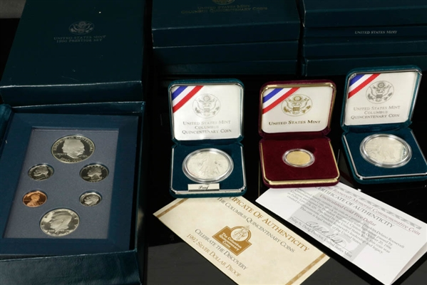 Collection of US Mint Commemorative Coins