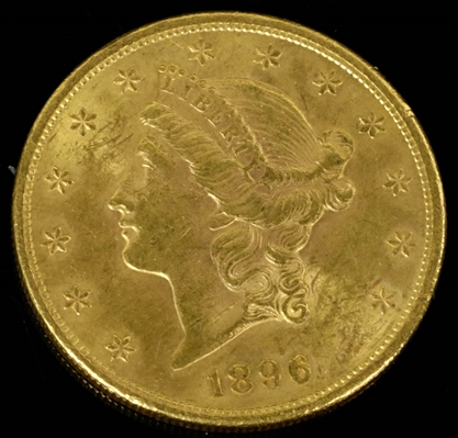 1896 Gold Double Eagle Coin