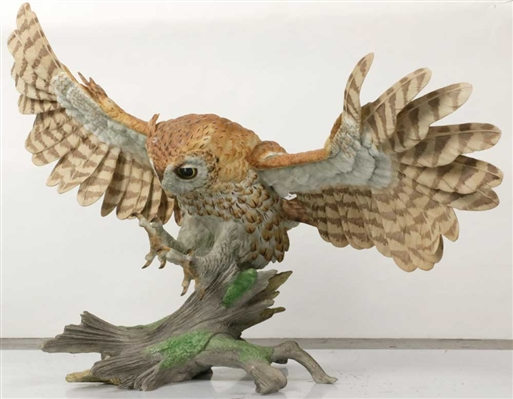 Boehm Limited Edition Screech Owl