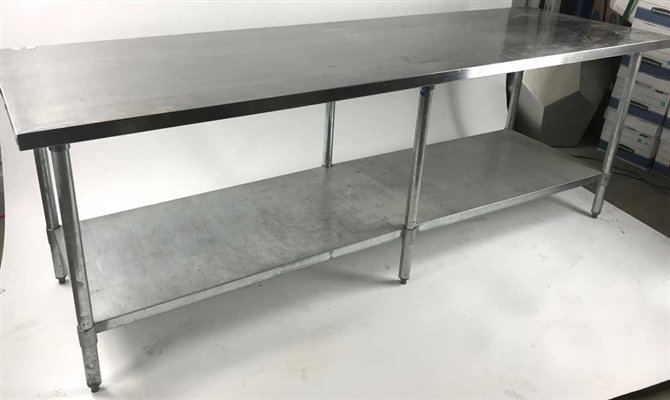 Stainless Kitchen Prep Table