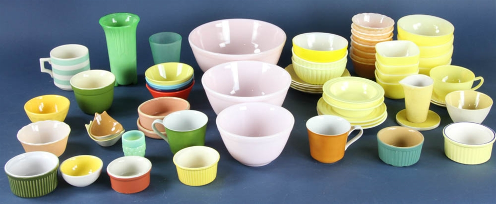 Collection of Assorted Bowls, Cups