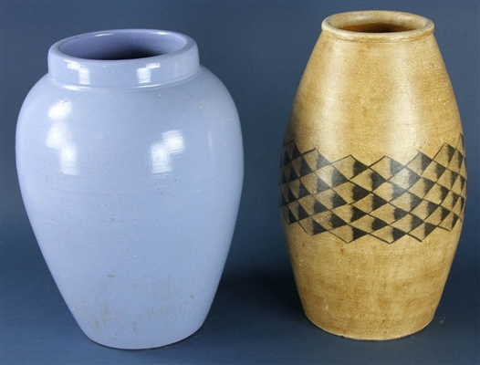 Two Pottery Vases