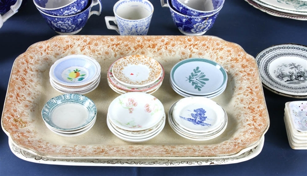 Collection of Transferware
