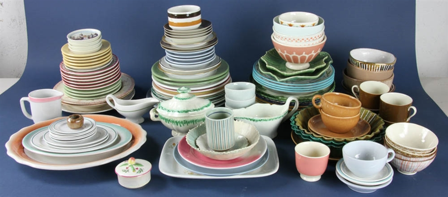 Collection of Assorted Tableware