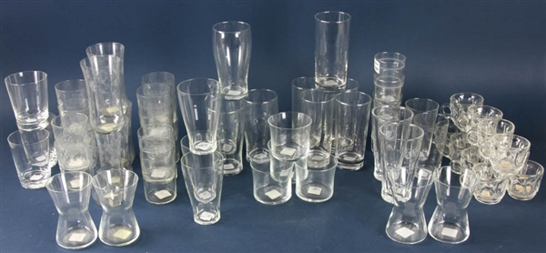 Colorless Glass Barware