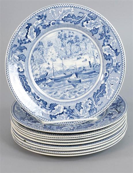 Lot Detail - Johnson Brothers Historic America Plates