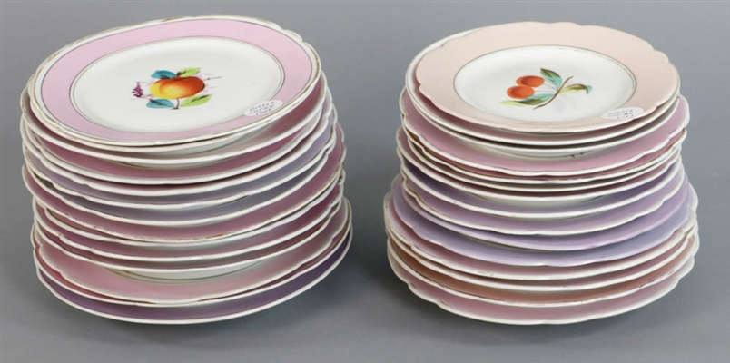 Group of Assorted Size Plates