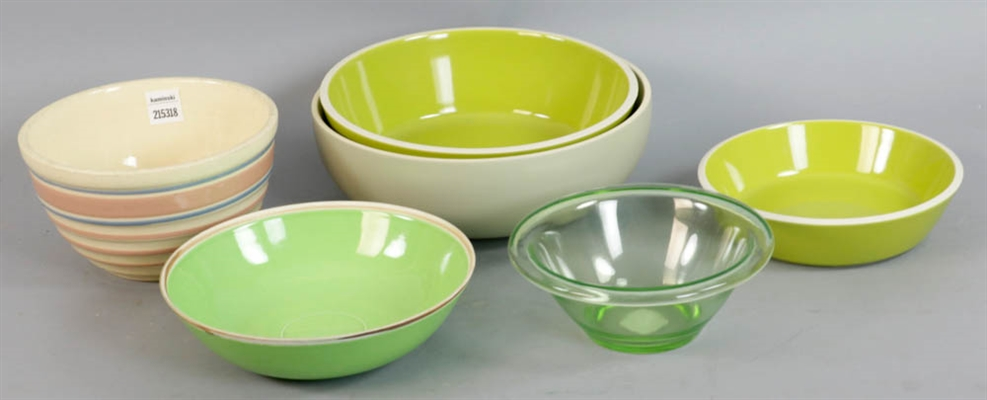 Collection of Assorted Mixing Bowls
