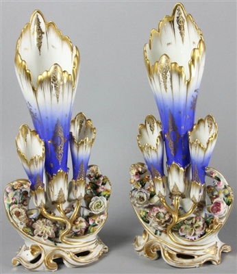 Pair of 19thC French Vases