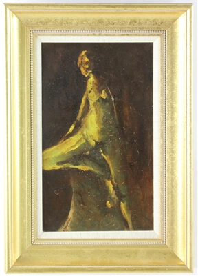 G. Stagnel Nude Oil on Canvas