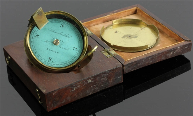 English Brass Schmalcalder Compass