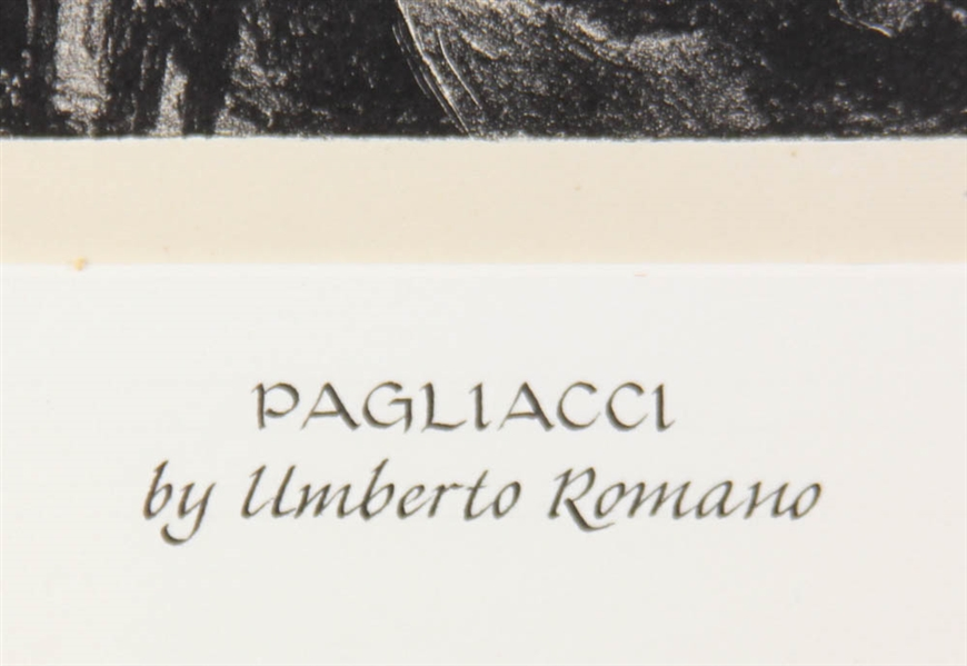 Umberto Romano, Guitar Player and Pagliacci