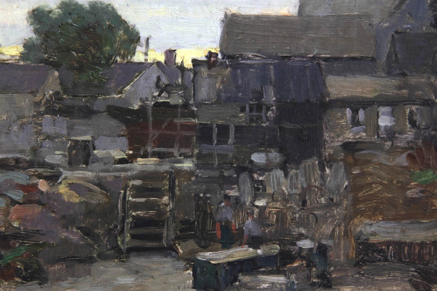 Paul Cornoyer, Bearskin Neck Rockport