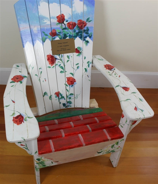 John Caggiano, Painted Adirondack Chair