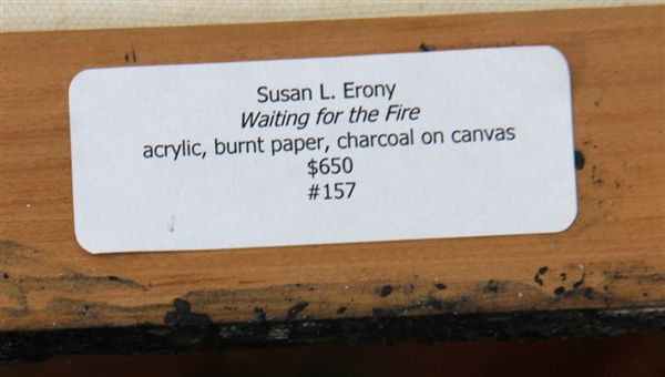Susan Erony, Waiting for the Fire