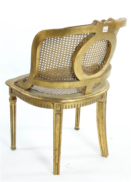 Louis XVI Style Carved Chair