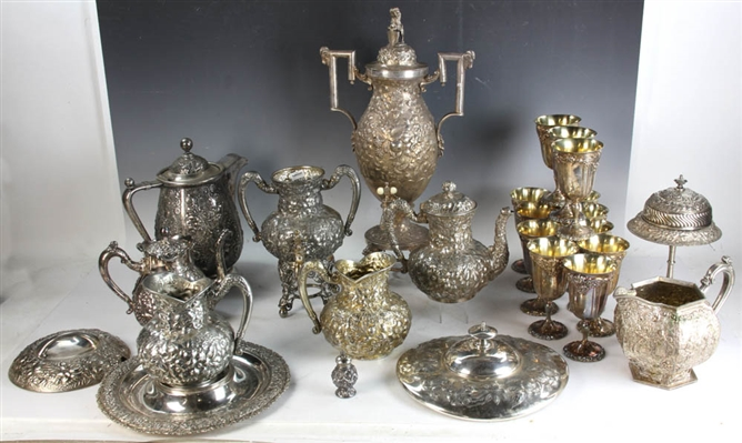Collection of Silverplate Hollowware