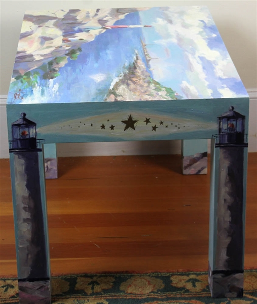 John Caggiano, Painted Table, Rockport