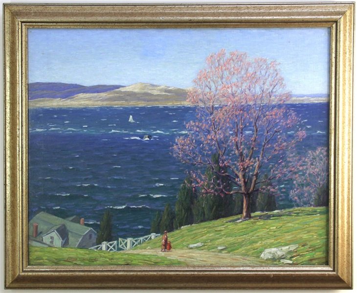 Andrew T Schwartz, View of Annisquam