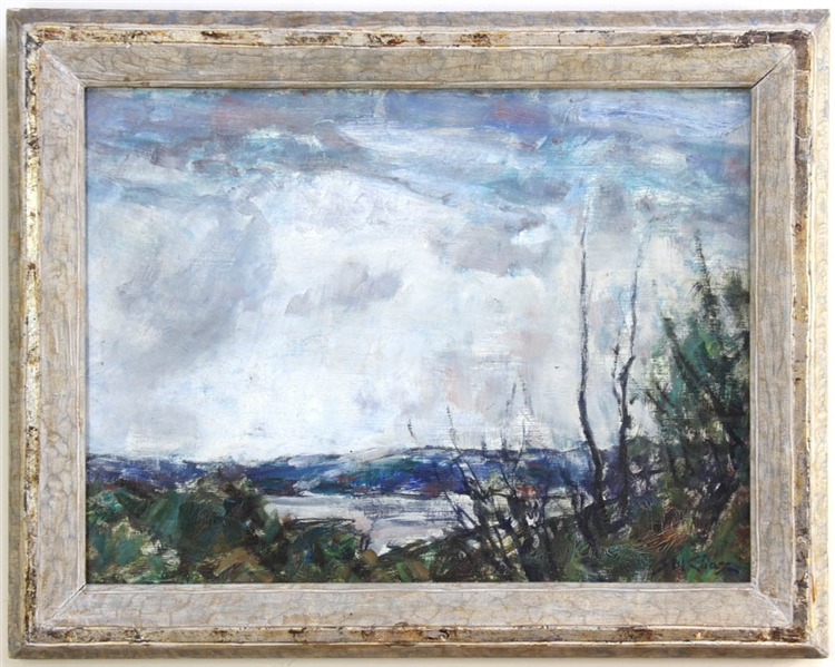 Sidney M Chase, Water's Edge, in Kuehne Frame