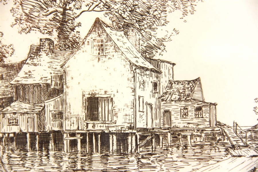 Carl Johan Nordell, Boathouse, Print