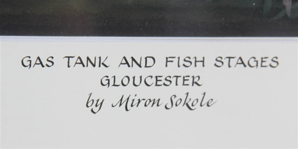 Miron Sokole, Gas Tank and Fish Stages