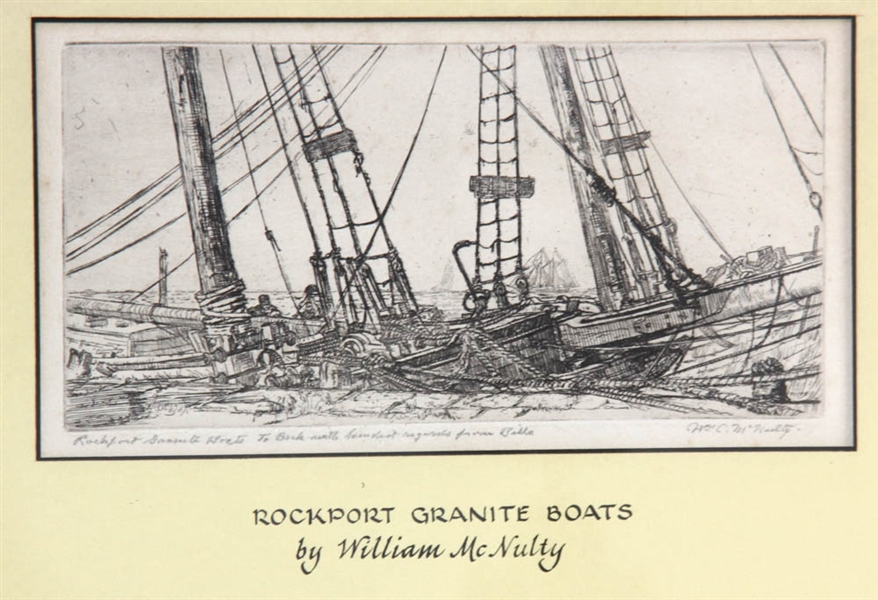 William McNulty, Rockport Granite Boats