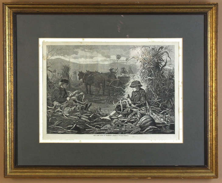 Three Prints by Winslow Homer