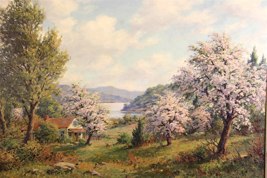 EW Roberts, Spring Blossoms