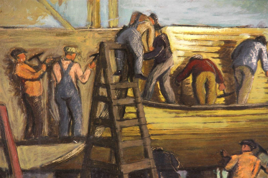 Harry Gottlieb, Shipbuilders