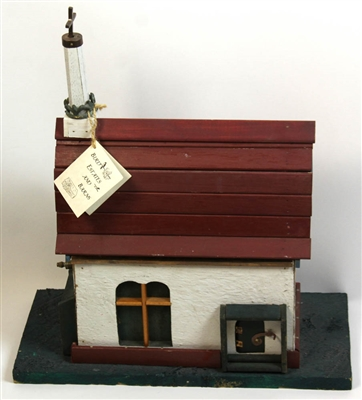 Birdhouse, Handcrafted as Country Church