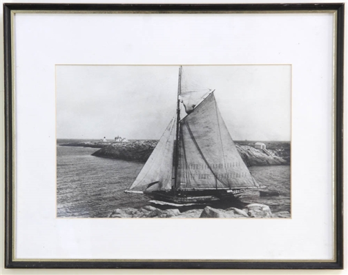Gloucester Sloop Lena May, Photograph